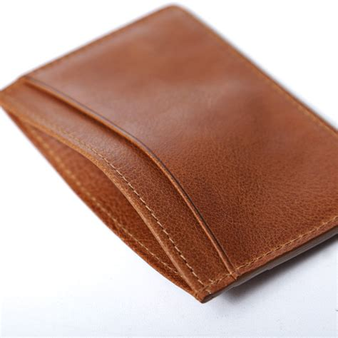 card holder a p c leather card holder the carry