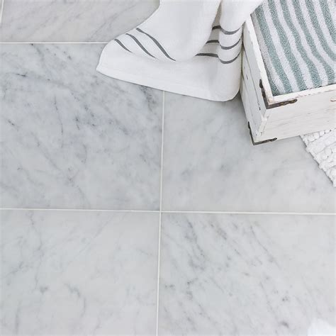 carrara 12x12 l polished marble tile tilebar com