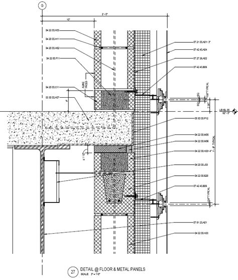 Steel Wall Section by Figure 4 Panel Wall Section Courtesy Of Smithgroupjjr