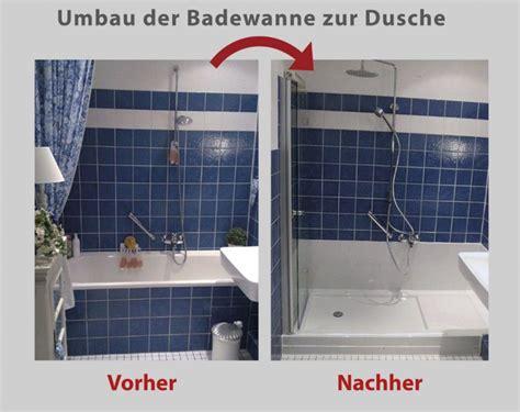 Dusche Statt Wanne by Umbau Der Badewanne Mit Dem Patent Quot Wanne Zur Dusche Quot In 8