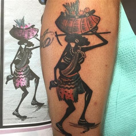afro tattoo images designs