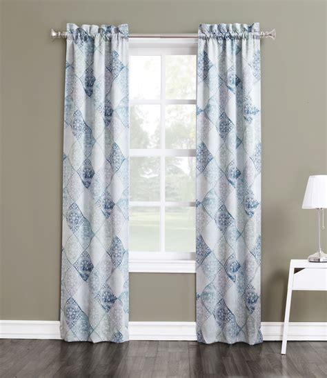 jaclyn smith curtains drapes jaclyn smith logan room darkening window panels set of 2