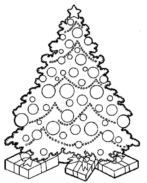 Printable Coloring Pages Of Christmas Tree | free coloring pages christmas tree coloring pages