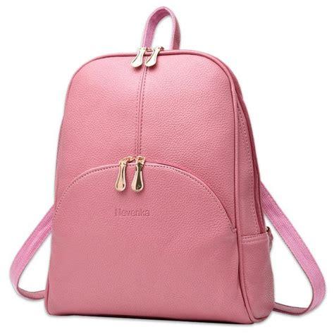 Bag Ransel Fashion W3676 tas ransel wanita preppy style pink jakartanotebook