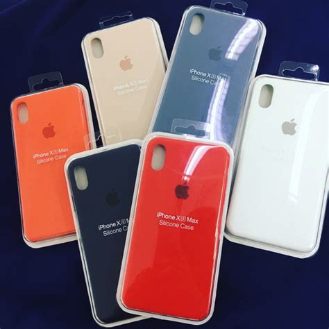 silicone case  iphone xs xr  xs max