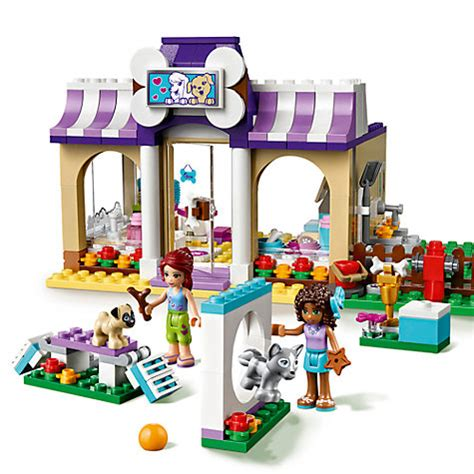 lego friends puppy daycare buy lego friends 41124 puppy daycare lewis
