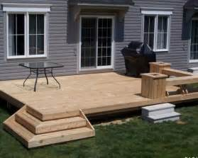 Deck Ideas For Small Backyards Small Deck Building A Deck