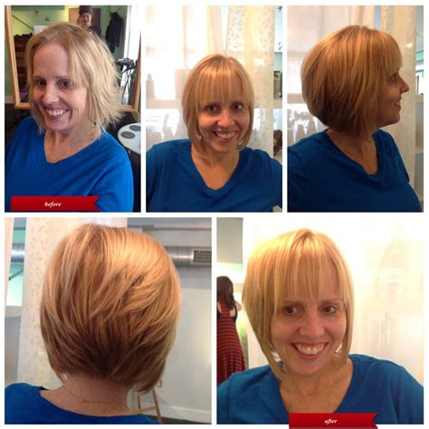 before and after pictures bob haircut haircut make overs hair by shondi