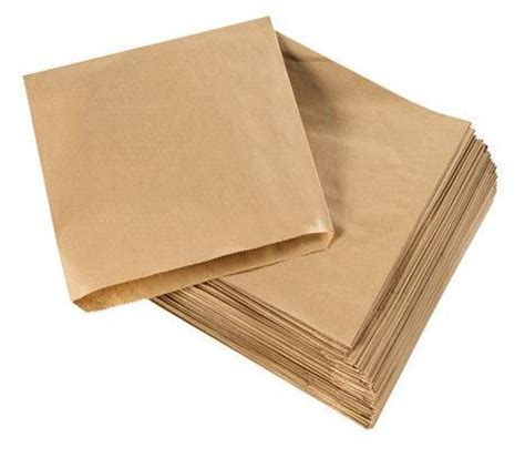 Brown Craft Paper Bag - wsb1118 kraft brown paper bags 38gsm 8 5 x 8 5 inch x 1000