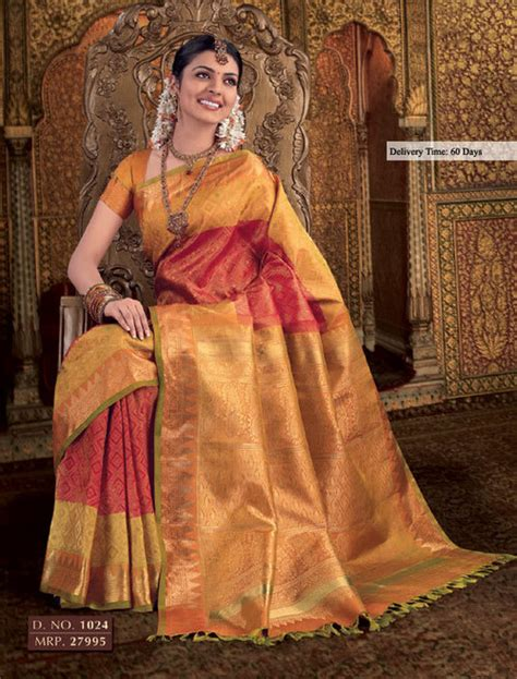 latest wedding sareesbuy south indiantraditional silk aura bridal sarees wedding silk sarees
