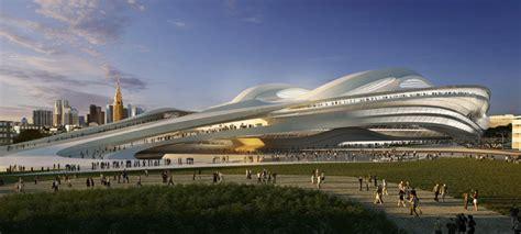designboom zaha hadid japan zaha hadid new national stadium of japan venue for tokyo