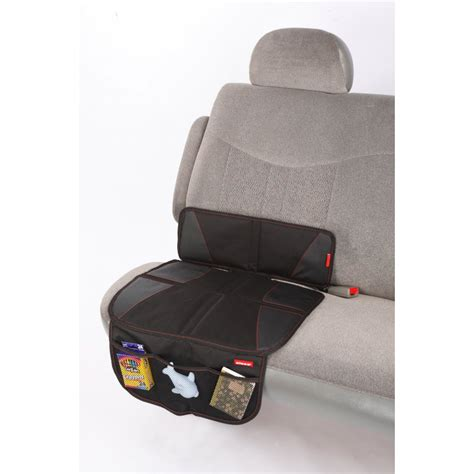 Mat For Car Seat by Diono Car Seat Protector Mat Black