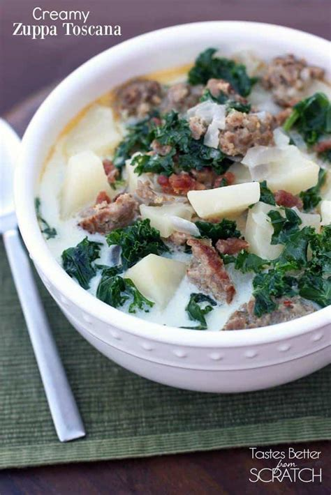 youtube membuat zuppa soup creamy zuppa toscana tastes better from scratch