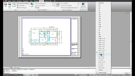 autocad layout add autocad managing paper and model space part 1 mp4 youtube