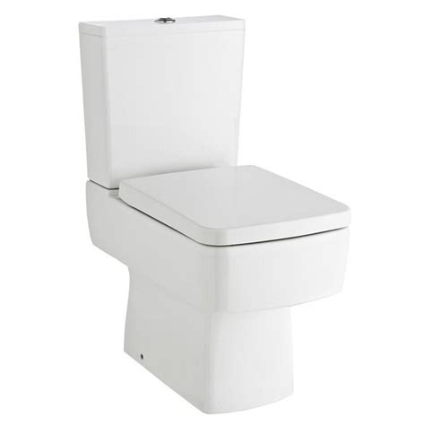square toliet bliss close coupled square toilet inc standard or soft