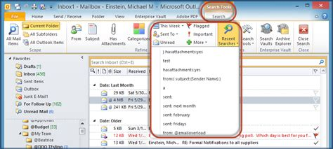 Outlook Not Searching All Emails Using The Outlook Instant Search Tool Email Solutions