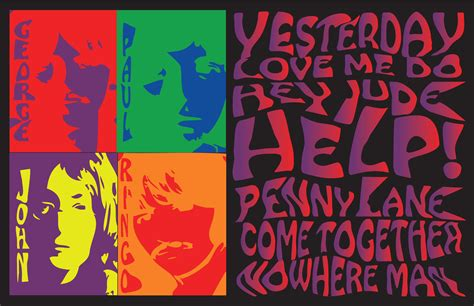 60 s pop posters psychedelic 60s posters by barb at coroflot