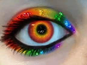 cool eye colors cool rainbow colors