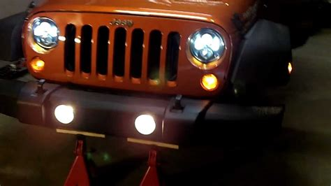 Jw Speaker Jeep Jw Speaker 8700 Jk Lights Mov