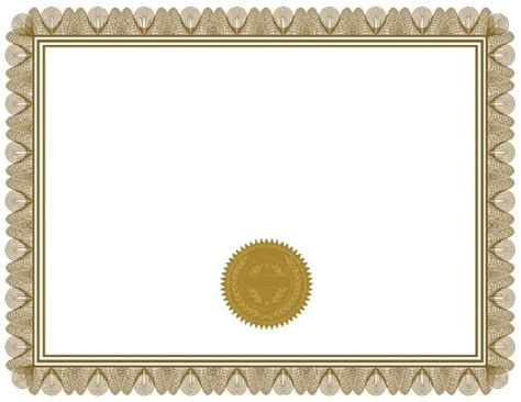 certificate templates blank free blank certificate print blank or customize free