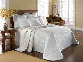 Cotton Coverlet King Queen Bedspread Historic Charleston Foundation
