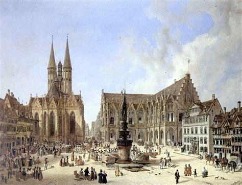Old House by File Domenico Quaglio Braunschweig Altstadtmarkt 1834 Jpg