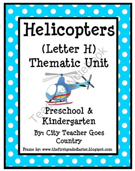 Parent Letter For Thematic Unit Helicopters Thematic Unit Letter L From City Goes Country On Teachersnotebook 37