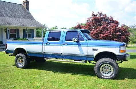 how petrol cars work 1993 ford f350 electronic toll collection buy used 1993 ford f 350 7 3 l idi diesel w ats turbo pickup truck in harleysville