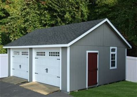 Separate Garage by Two Car Garage Door Entry And Car Garage On