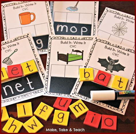 free printable word building games 3 freebies for teaching and practicing short vowels and