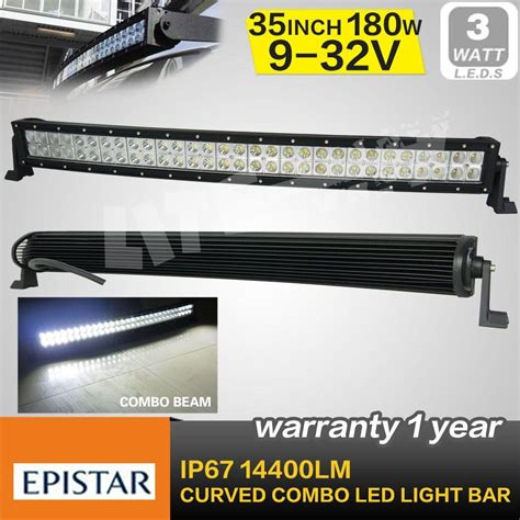 35 Inch 180w Curved Cree Led Light Bar Combo Beam For Off 35 Inch Led Light Bar