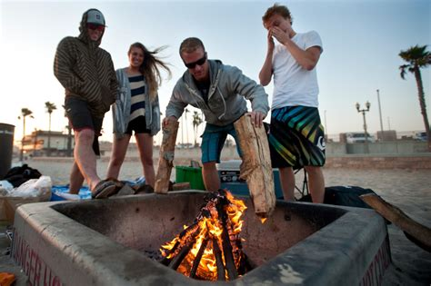 huntington pits bill seeks to preserve iconic california bonfires
