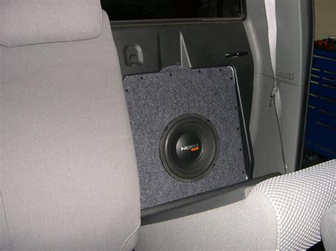 Toyota Tacoma Subwoofer Box Toyota Tacoma Custom Sub Box Audio Matrix Yelp