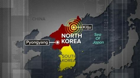 earthquake north korea earthquake in north korea was less than two miles from the