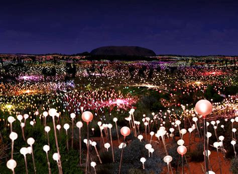bruce munro field of light bruce munro announces largest solar powered field of light
