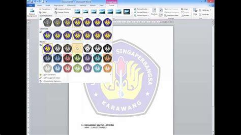 membuat background html transparan membuat logo di ms word youtube