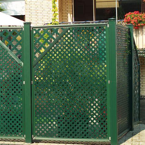 terrasse im garten 3276 sichtschutzwand kunststoff coventry diamant zierecke