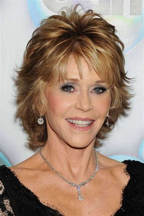 choppy hairstyles for women over 60 choppy look for mature fashionistas jane fonda haircut