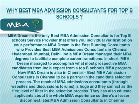Best Mba Admission Consultants In Mumbai by Best Mba Admission Consultants In Chennai Mba
