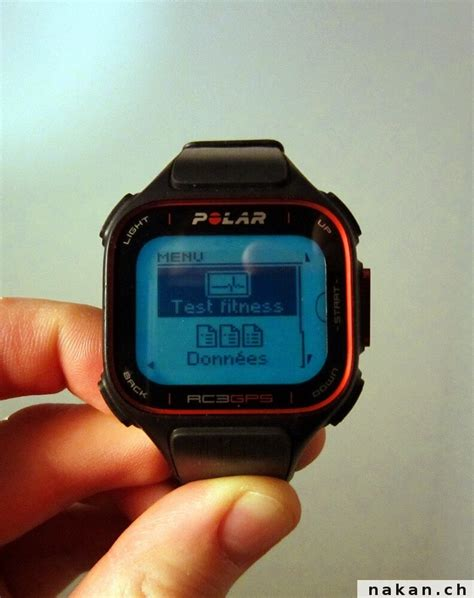 polar fitness test la polar rc3 gps test 233 e de fond en comble nakan ch