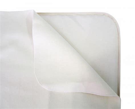 Crib Waterproof Pad by Naturepedic Non Waterproof Crib Flannel Pad Flat Free
