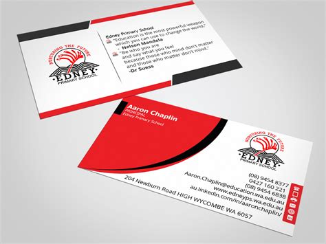 cards for school bold modern business card design for aaron chaplin by