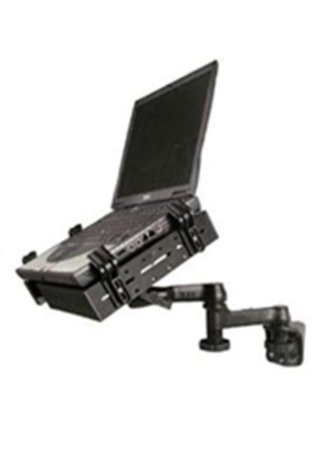 swing arm laptop holder ram 109v 234u ram mount universal vertical laptop mount w