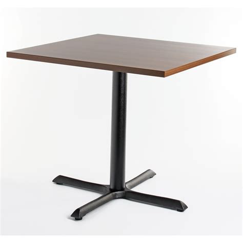 Top Tables by Walnut Top Square Dining Table From Ultimate Contract Uk