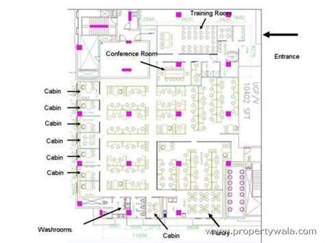 layout plan of gurgaon dlf cyber city golf course road gurgaon office space
