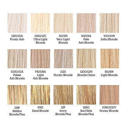 wella blonde hair colors | dream blonde | pinterest