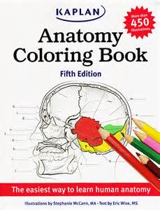 anatomy coloring book by kaplan kaplan anatomy coloring book