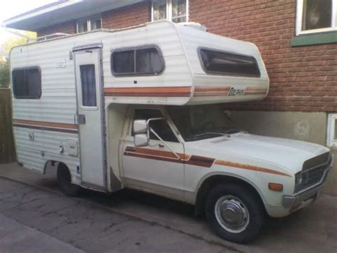 motor house cars 1978 datsun nissan dolphin rv camer housecar motorhome