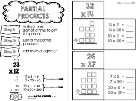 Partial Product Multiplication Worksheets Free by 442 Best Math Multiply And Divide Images On