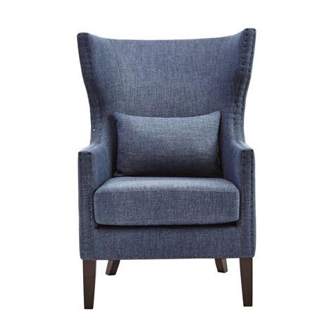 blue arm chairs safavieh hemp linen club arm chair mcr4571e the